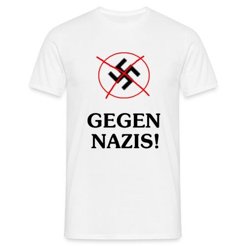 gegennazis1 - Männer T-Shirt