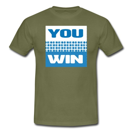 you win 21 - Men's T-Shirt