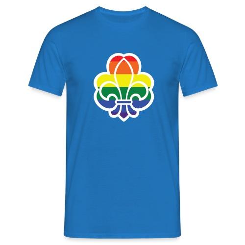 Regnbuespejder jakker og t-shirts mv - Herre-T-shirt