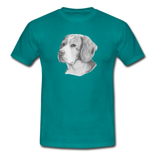 beagle M - Herre-T-shirt