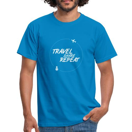 Travel Share Repeat Logo V1 - T-shirt Homme