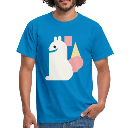 Ice cream bunny - Men's T-Shirt