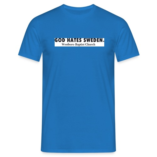 god hates - T-shirt herr