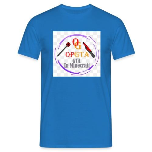 opgta logo - Miesten t-paita