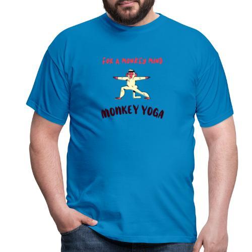 MONKEY YOGA - Camiseta hombre