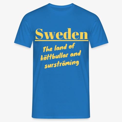Landet av köttbullar - T-shirt herr
