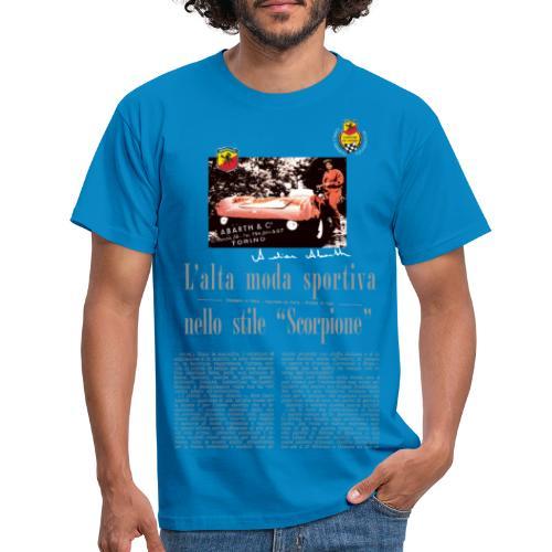 L' alta moda sportiva by Anneliese Abarth - Männer T-Shirt