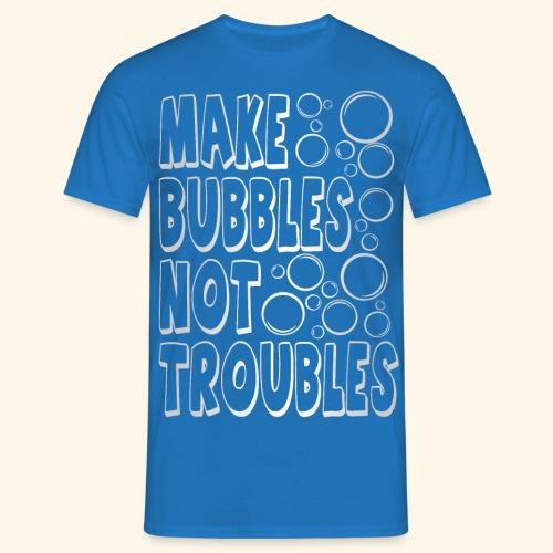 Bubbles003 - Mannen T-shirt