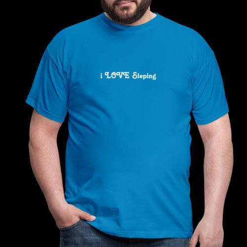 i love sleeping weiss - Maglietta da uomo