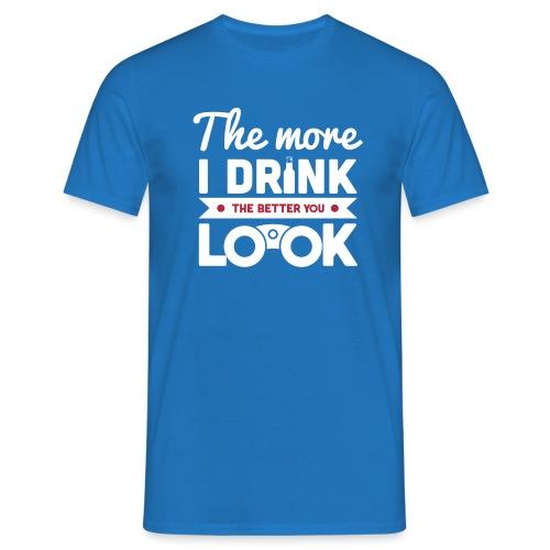 DRINKS & LOOKS - Men's T-Shirt