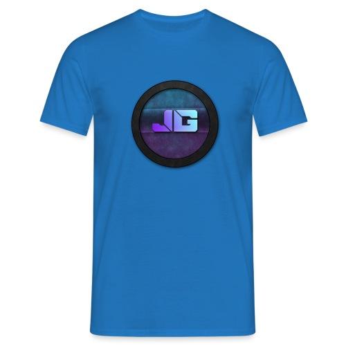 Pet met Logo - Mannen T-shirt