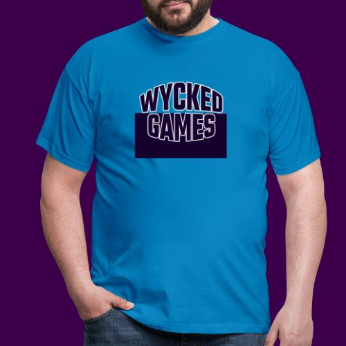 Wycked Games Logo - Men's T-Shirt