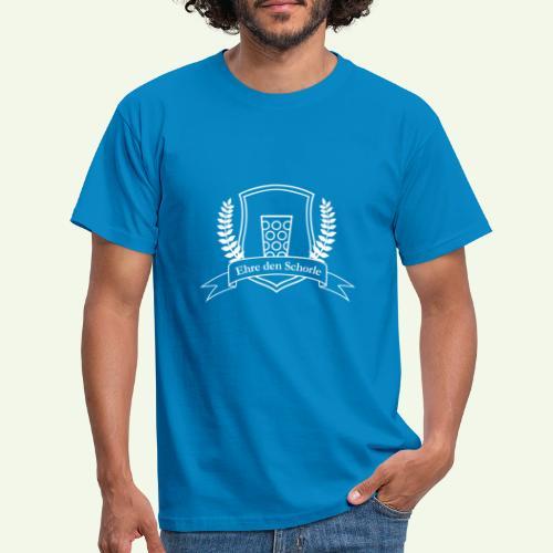 Ehre den Schorle - Männer T-Shirt