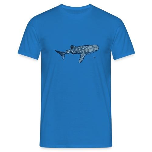Whale shark - T-skjorte for menn