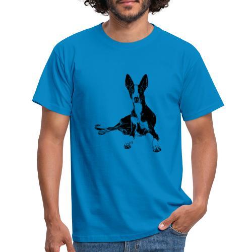 Podenco Hunde Design Geschenkidee - Männer T-Shirt