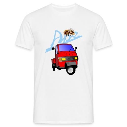 apepritsche rot - Männer T-Shirt