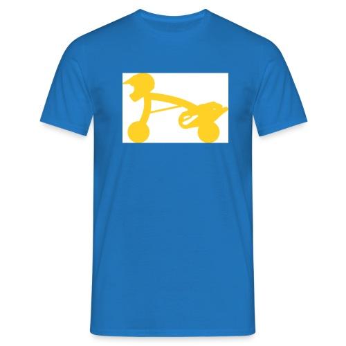 scooterman gelb - Männer T-Shirt