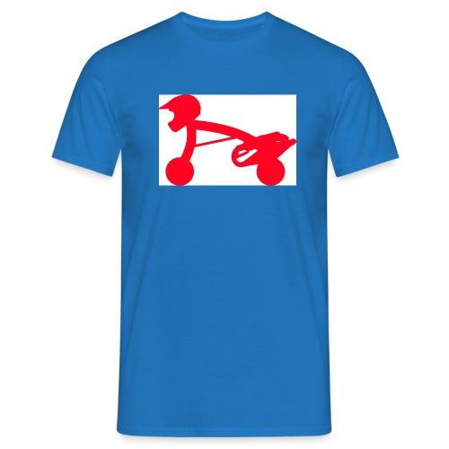 scooterman rot - Männer T-Shirt