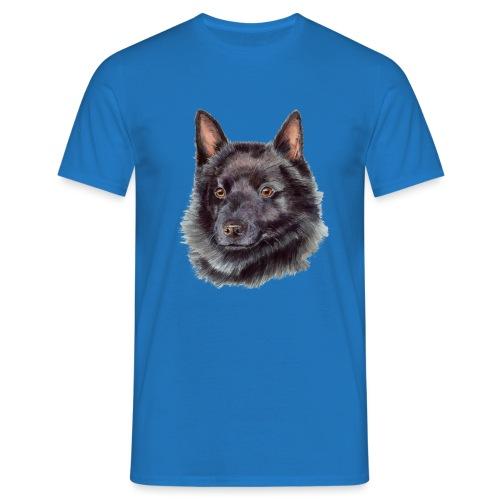 schipperke - M - Herre-T-shirt