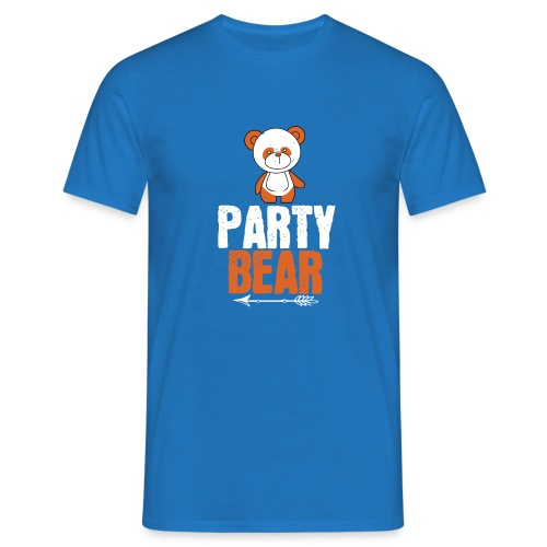 party bear - Mannen T-shirt