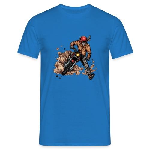 Motor bike racer - Men's T-Shirt