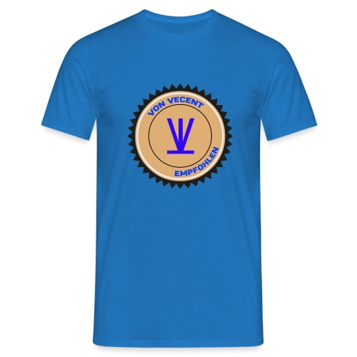Von Vecent Empfohlen - Männer T-Shirt