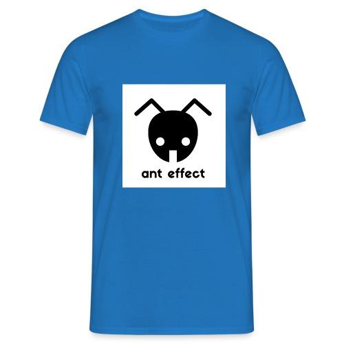 ant effect logo - Männer T-Shirt