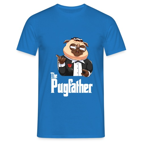 Pugfather - Männer T-Shirt