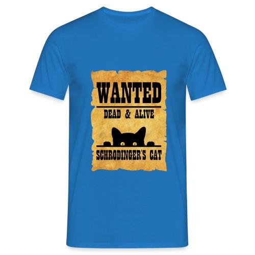 Gato de Schrodinger - Camiseta hombre