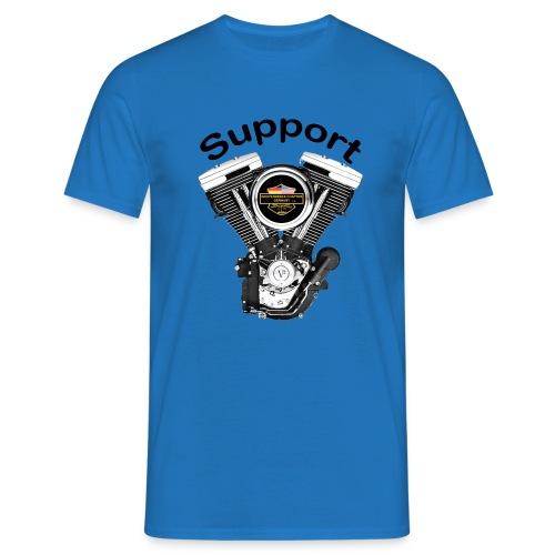 Support Indis bunt evolution engine - Männer T-Shirt