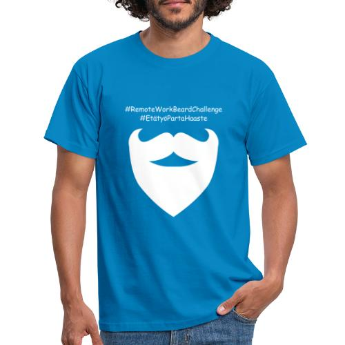 Remote Work Beard Challenge - Men's T-Shirt