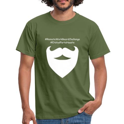 Remote Work Beard Challenge - Men's T-Shirt
