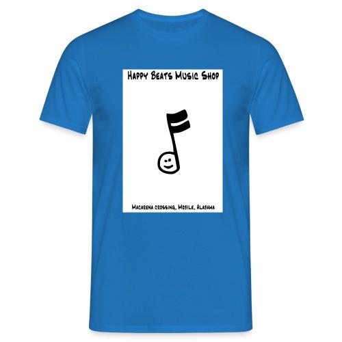 happy beats - Men's T-Shirt