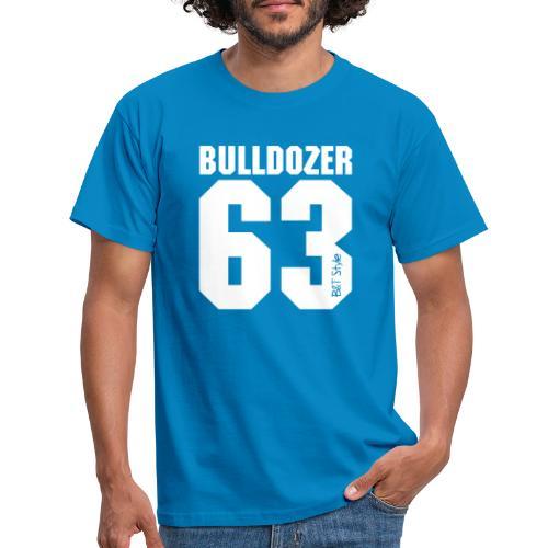 Bulldozer 63 logo - Maglietta da uomo
