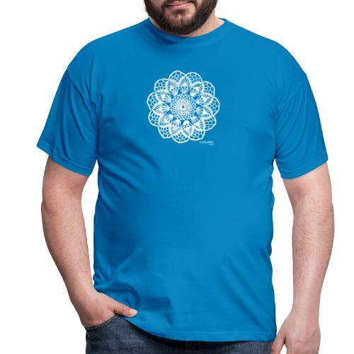 Granny´s Flower, valkoinen - Miesten t-paita