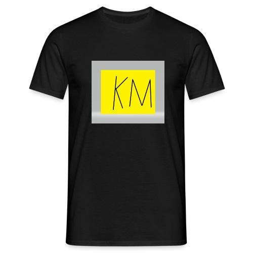KM logo kleding - Mannen T-shirt