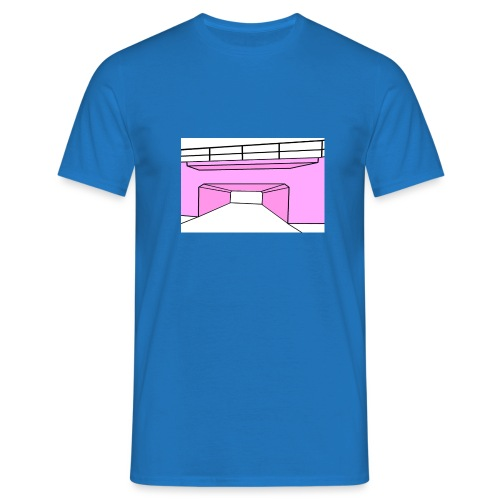 Pink Tunnel - T-shirt herr