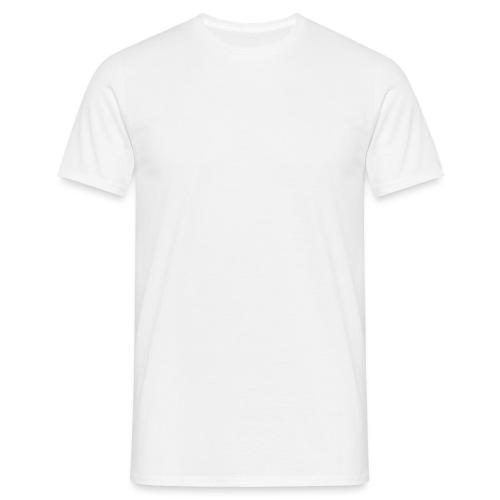 Chihuahua istuva valkoinen - Miesten t-paita