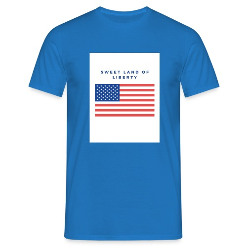 drapeau usa - T-shirt Homme