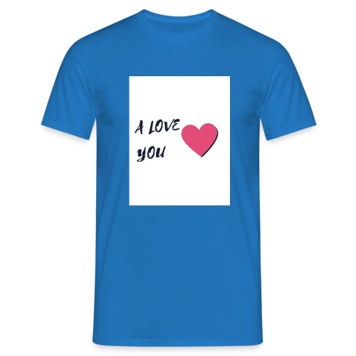 A LOVE YOU 2 - T-shirt Homme