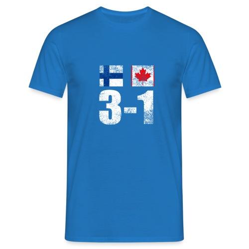 Suomi - Kanada - 3 - 1 - Miesten t-paita