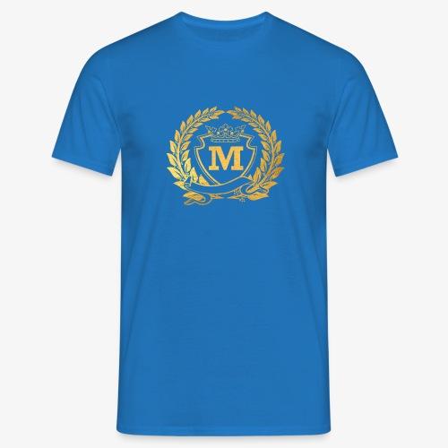 Logo Goud 2550 3300 2 1 - Mannen T-shirt