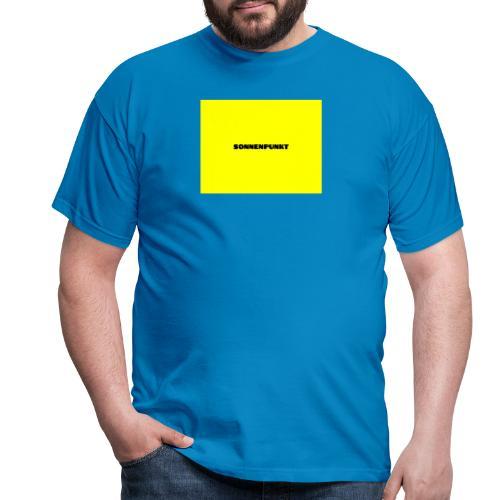 Sonnenpunkt schriftart - Männer T-Shirt