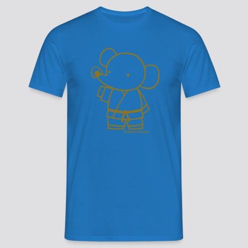 Gouden olifant - Mannen T-shirt