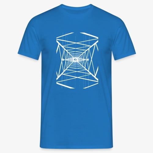 Hochmast V2 Weiß - Männer T-Shirt