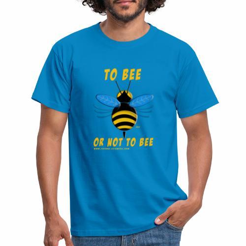 Bee Jaune - T-shirt Homme