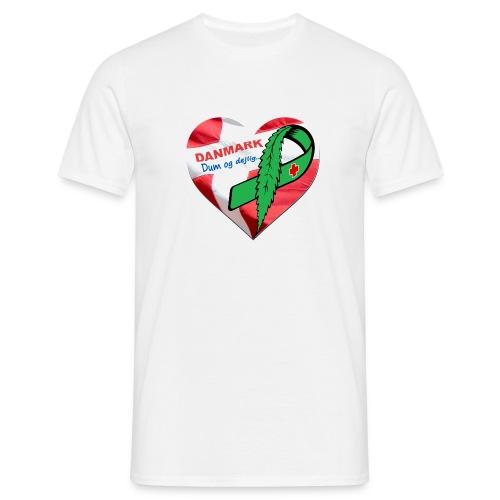 Danmark dum og dejlig - Herre-T-shirt