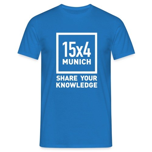 Share your knowledge - Männer T-Shirt