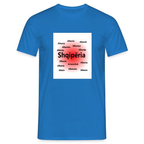 Shqipëria Albania Albanie - Männer T-Shirt