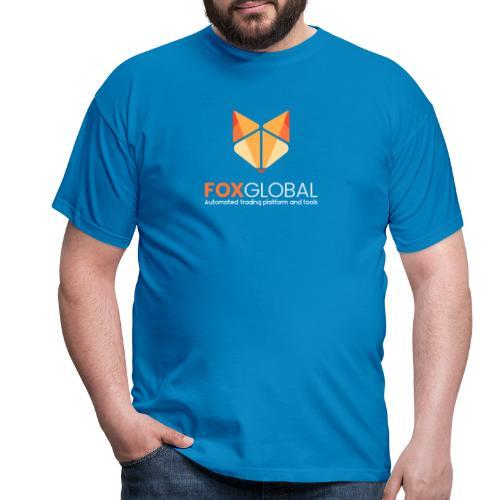 Logo vert white - Men's T-Shirt